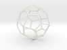 PentagonalIcositetrahedron 70mm 3d printed