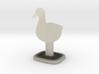 Duck Bird Stand 3d printed
