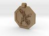 Scyther Pendant (engraved on reverse) 3d printed
