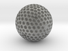 GOLDEN GOLF BALL TROPHY 3d printed