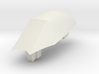 Aircraft-  DH 100 Vampire- Canopy Only (1/144th) 3d printed