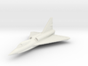 Convair F2Y Sea Dart 6mm 1/285 (in flight) 3d printed