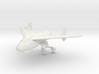 1/144 Junkers EF 128 3d printed