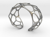 Exteriority Bracelet 3d printed
