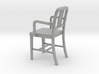 1:24 Alum Chair 1 (Not Full Size) 3d printed
