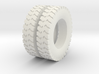 1:64 scale ground gripper tires for dayton wheels 3d printed