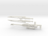 Cybernetic Assassination Weapons Pack 3d printed