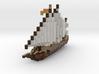 Arabian Sail Boat 3d printed