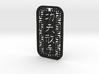 Kung Fu San Soo Dog Tag (thin) 3d printed