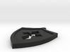 Shield Cross Cutout Pendant/Charm 3d printed