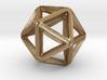 Icosahedral Pendant  28mm 3d printed