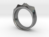 Triangulated Ring - 18mm 3d printed