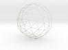12cm GeodesicDome 3d printed