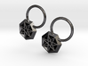 Star Earrings 3d printed