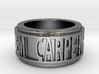 Carpe Noctem 2 Ring Size 7.5 3d printed