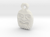 Tiki Pendant 1 3d printed