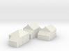 1/350 Village Houses 2 3d printed
