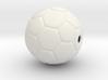 Soccer Ball Bead 3d printed