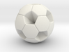 Soccer Ball (White Hexagon Body) 3d printed