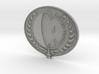 JF Badge rev b 3d printed