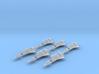 6x HMM (Missiles) 3d printed