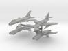 1/350 Super Mystere & Su-7B 3d printed