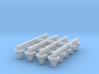 N Scale Coligny Lamps: Pack of 20 3d printed