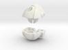 Wrecker Ironfist Head - Bullet Hole 3d printed