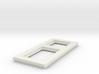 socket frame 3d printed