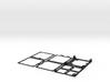 CubeHAB Basic Full frame 3d printed