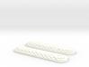 Raised Hex Custom Swiss Army Knife Side Scales 3d printed