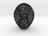 Genus 2 surface mesh 3d printed