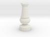 Smaller Staunton Rook Chesspiece 3d printed