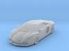 1/87 - Hollow: Lamborghini Aventador (HO - Scale) 3d printed