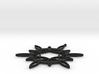 Double Hexafoil Pendant 3d printed