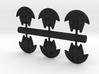 6 Aquatic heavy bombers 3d printed