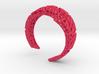 VoronoiBracelet v020.5 Medium Rare (a stronger v02 3d printed