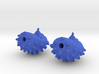 Hedgehog Earrings 3d printed