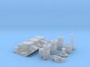 1/16 SBC 3X2 Stromberg Intake System 3d printed