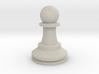 Large Staunton Pawn Chesspiece 3d printed