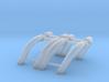 1/16 SBC Zoomie Headers 3d printed