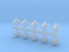 10 Rys Drone-Interceptors 3d printed
