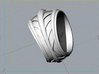 Poseidon Ring - Size 12 (21.49 mm) 3d printed