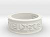 by kelecrea, engraved: Dixie gh 3d printed