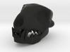 Cat Skull 2 Inch 3d printed