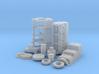 1/16 Stock BBC Block Kit (No Mech Fuel Pump) 3d printed