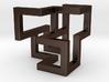 Cube Frame Pendant 3d printed