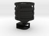 Lightclip: Batman, iPhone 4/4S 3d printed