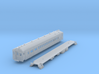 N Scale Reading MU Blueliner Coach (ex-Combine) 3d printed