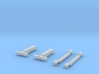 N Scale Reading RDG MU Roof Detail Set 3d printed